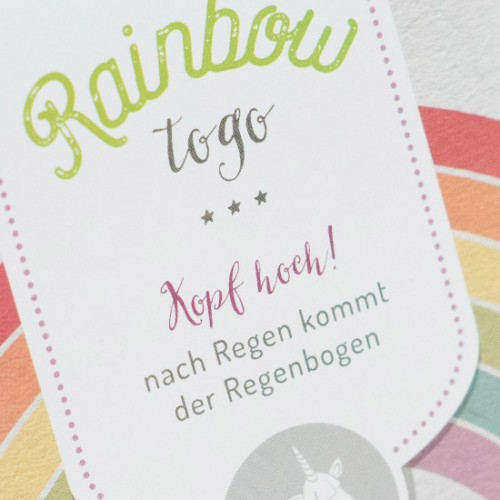 packeging design rainbow liebeskummerpillen